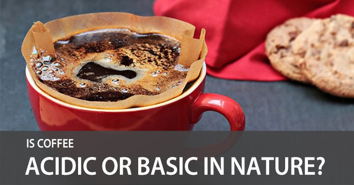 Is coffee acidic or basic?