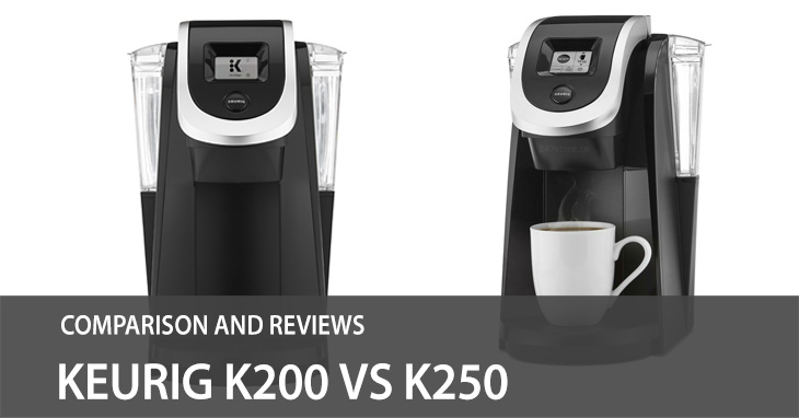 Keurig K200 vs K250 – Comparison and Review